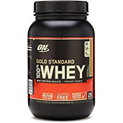 Optimum Nutrition 100% Whey Gold Standard, Chocolate Dip Banana, 2 Pound