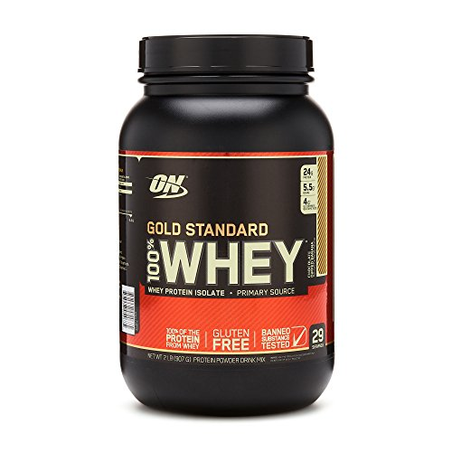 Optimum Nutrition Gold Standard 100% Whey Protein Powder, Chocolate Dipped Banana 2 (Gainer Whey Protein)