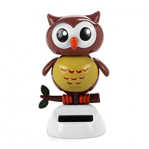 Owl Ornament Powered Dancing Novelty product image
