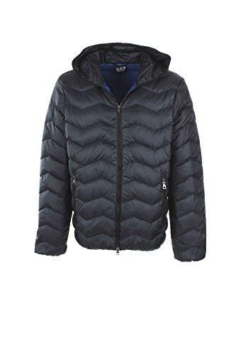 Emporio Armani EA7 cazadoras chaqueta de hombre plumíferos chapucha nuevo blu