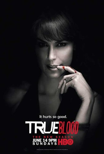 True Blood Season 2 Poster TV Michelle Forbes Maryann 11x17 Jim Parrack Anna Paquin Stephen Moyer