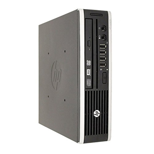 HP Elite 8300 Ultra Slim Desktop Computer, Intel Quad Core i5-3470S CPU, 8GB DDR3, 500GB HDD, USB 3.0, Windows 10 Pro (Renewed)