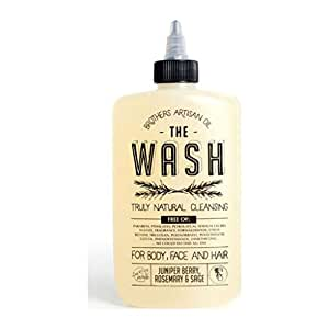 Brothers Artisan Oil Shampoo and Body Wash | Juniper Berry, Rosemary, Sage
