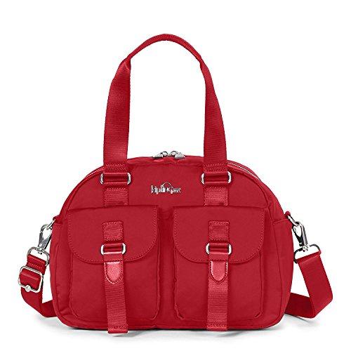 Kipling Defea Crossbody Shoulder Bag Handbag Candied Red