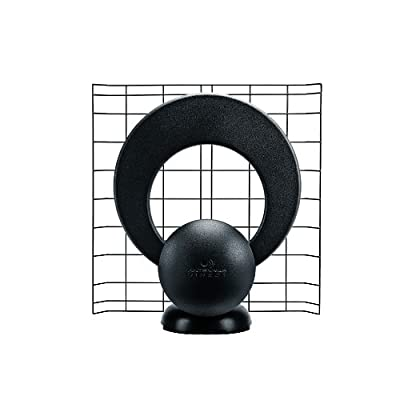 ClearStream 1 Convertible Indoor/Outdoor HDTV Antenna with Mount - 30 Mile Range