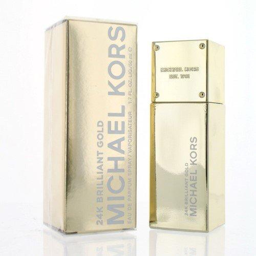 Michael Kors 24k Brilliant Gold Eau de Parfum Spray for Women, 1.7 Ounce