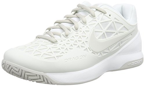 Nike Zoom Cage 2 Summit White/Light Bone Women's Tennis Shoes by iNike