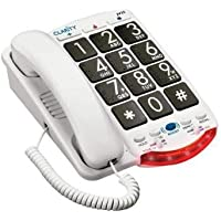 Clarity JV-35B AMERPHONE AMPLIFIED CORDED BIG BUTTON PHONE