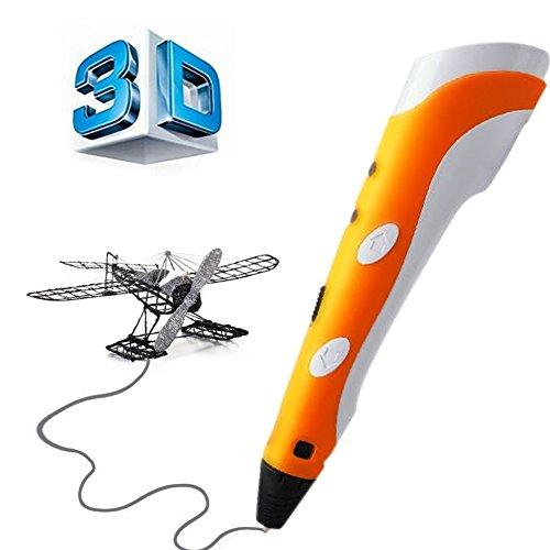 3D Stylo pen Imprimante à Peindre Impression Stéréoscopic Printing Pen avec ABS Filament Multi-couleur Pour Artisanat 3D Enfant ,Cadeaux de Noël