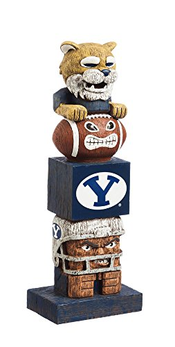 Team Sports America Brigham Young University Tiki Totem Garden Statue