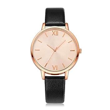 WZFCSAE Reloj Mujer Relojes de Cuero Relojes de Pulsera de ...