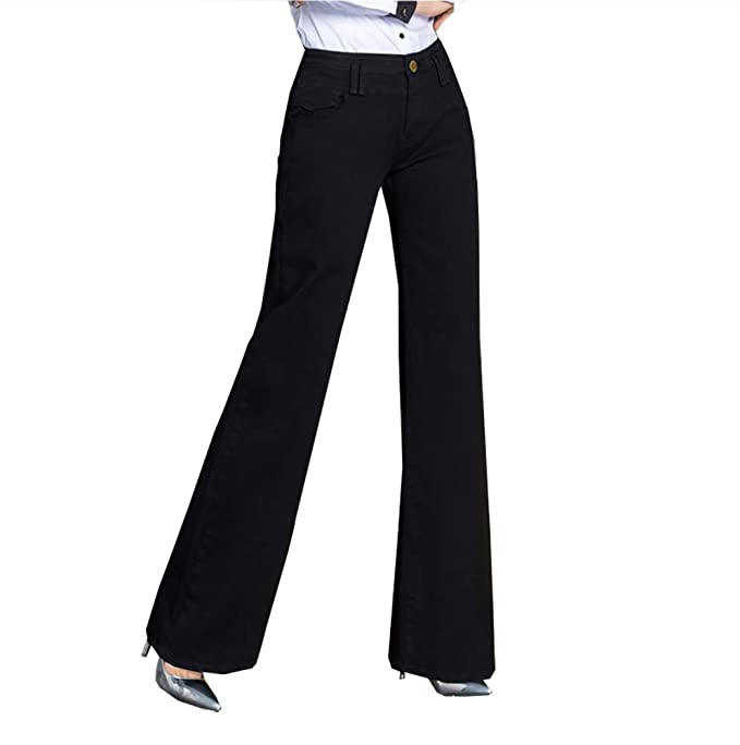 QZUnique - Jeans de Pierna Recta Mujer c1e4012c24a1