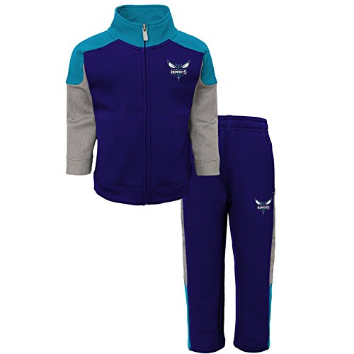 "NBA Kids ""One and One"" Pant Set Charlotte Hornets-Hornets Purple-M(5-6)"