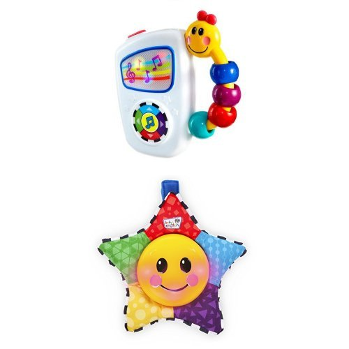 Baby Einstein Take Along Tunes Musical Toy and  Star Bright Symphony Toy