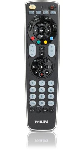 Philips SRP 5004 4-in-1 Universal-Fernbedienung inkl. Hintergrundbeleuchtung schwarz