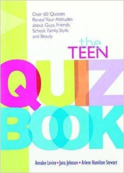 Book Teen Quiz Book