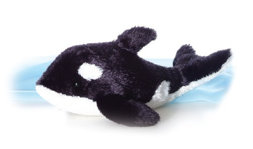 "Aurora World ORCA 16634 8"" Stuffed Animal Plush Toy, Small/6 x 14, Multicolor from Aurora"