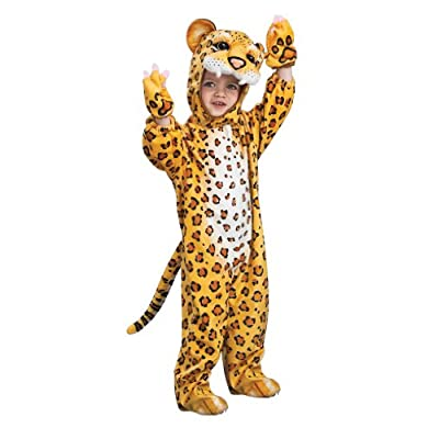 Silly Safari Costume, Leopard Costume, Small, One Color, Standard Packaging: Toys & Games