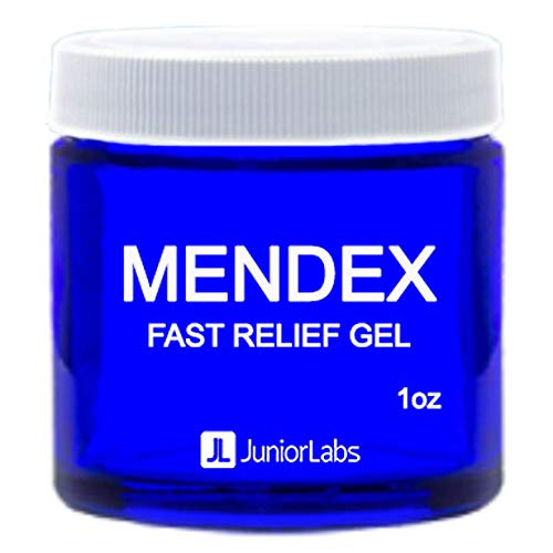 MENDEX Fast Relief Gel with Hyaluronic Acid | Cruelty Free | Made in USA | 1 oz ()