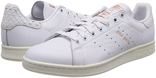 White copper Baskets White footwear 0 footwear Stan Metallic Femme Blanc Smith Adidas q8CzS