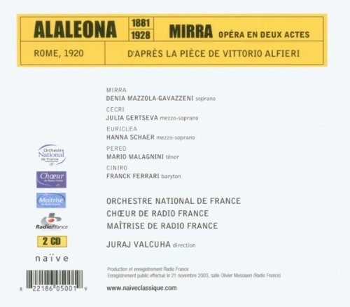 Alaleona: Mirra