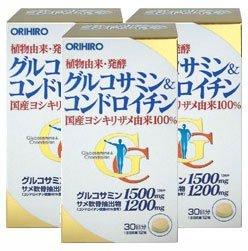 オリヒロ グルコサミン&コンドロイチン【3本セット】 B001CNHJG2