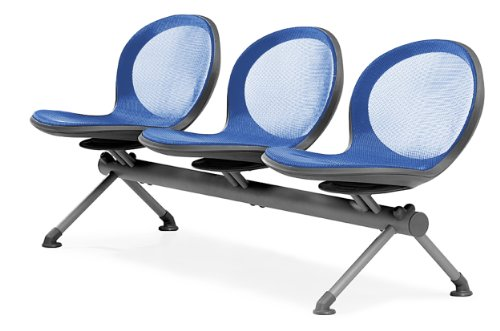 (OFM NB-3-MARINE Net Series Beam Seating with 3 Chairs,)