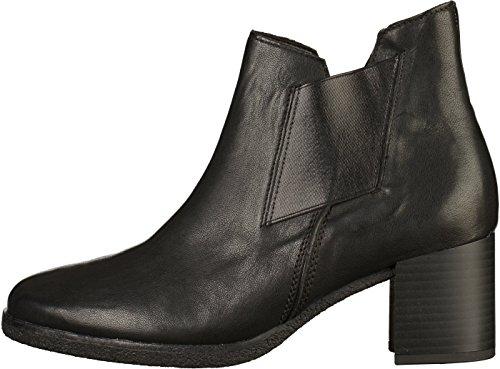 Gabor cuero Botines Schwarz 72 de Comfort mujer Shoes 830 pYHpwzxqr
