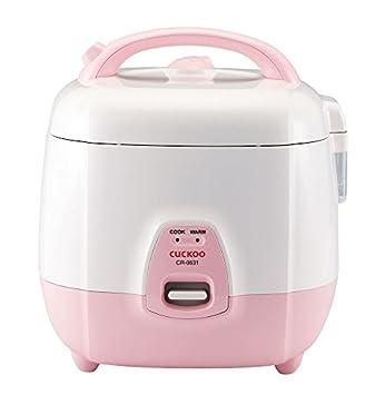 Cuckoo CR-0631 Rice Cooker, 3 Liters 3.2 Quarts, Pink