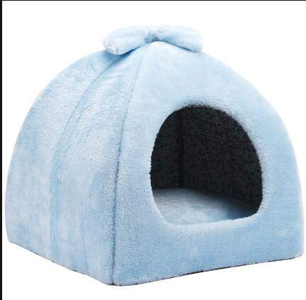 bluee Large bluee Large bluee cat Dog pet nest Teddy Small Dog Kennel net red cat Litter