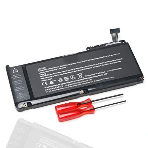 A1331 A1342 New Laptop Battery for MacBook 13'' (Only for Late 2009,Mid 2010) MC234LL/A MC233LL/A, 661-5391 020-6580-A 020-6582-A