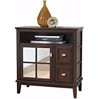 Ashley Furniture Signature Design - Larimer Console Table - Classic Style Entertainent Center - Rectangular - Dark Brown