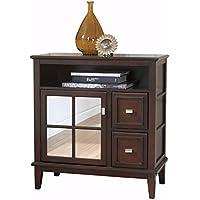Ashley Furniture Signature Design - Larimer Console Table - Classic Style Entertainent Center - Rectangular - Dark Brown