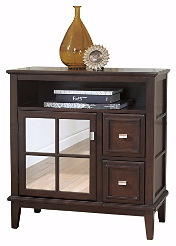 Ashley Furniture Signature Design – Larimer Console Table – Classic Style Entertainment Center – Rectangular – Dark Brown