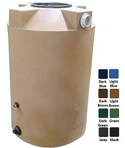 200 Gallon Rain Harvest Collection Tank, Light Brown