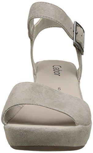 Shoes Mujer tacón Gabor Sandalias 65 53 Strass visoneohne de 751 Gris Zxdd7wnCq6