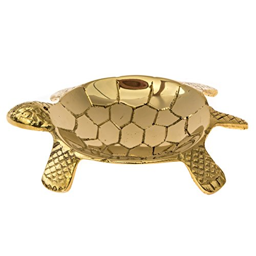 Alternative Imagination Turtle Incense Burner Made from Brass (Brass Turtle Incense Holder)