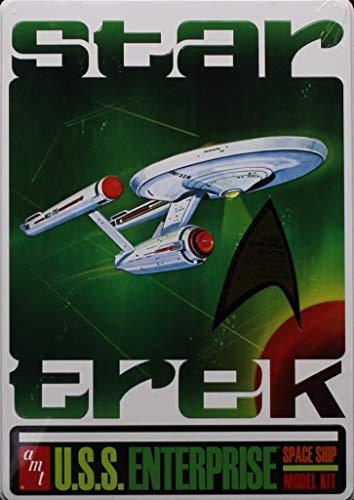 AMT 1: 650Star Trek USS Enterprise Space Shipプラスチックモデルキット# 640の商品画像