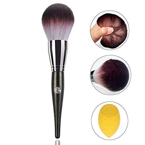 Powder Brush Kabuki Blush Bronzer Makeup Brush for Large Coverage Loose Mineral Powder Soft Fluffy Cruelty free ENERGY