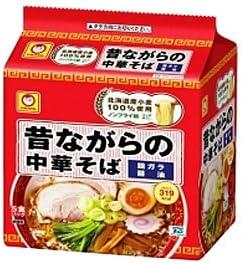 東洋水産 昔ながらの中華そば 5食入×18個入り/箱〔ケース〕
