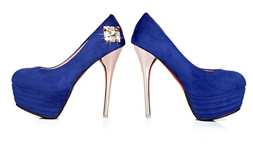Blue Heeled blue 36 XDGG shoes 37 Red Women 42 Size32 41 35 34 33 43 Black 40 38 New Single 39 High 42 Shoes wpnBqE0FBA