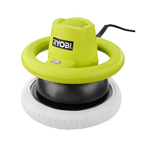 Ryobi RB102G 0.75 Amp 3200 OPM Orbital Buffer w/ 6 Foot Cord and 2 Included Buffing Pads