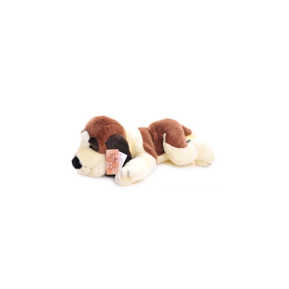Russ 14 inch Dog soft plush named Barrels [Toy]