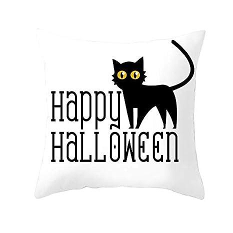 Throw Pillow Case Fundas de Cojines de Terciopelo para Gatos de ...