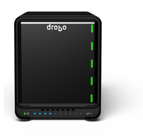 Drobo 5N2: Network Attached Storage (NAS) 5-Bay Array, 2X Gigabit Ethernet Ports (DRDS5A21) by Drobo