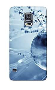 DQUcRiC4785kpbPn Special Design Back Water Bubbles Phone Case Cover For Galaxy S5