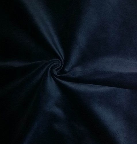 Quality Blue 100% Cotton Velvet Velour Fabric for Upholstery/Drapery/Crafts/Costumes Heavy 16oz Weight Thick Curtain Material Sold by The Yard at 54 inch Wide Cotton Velvet Upholstery