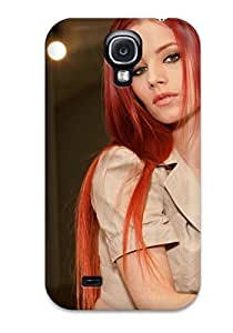 Women Redheads People Women Flip Case With Fashion Design For Case HTC One M8 Cover