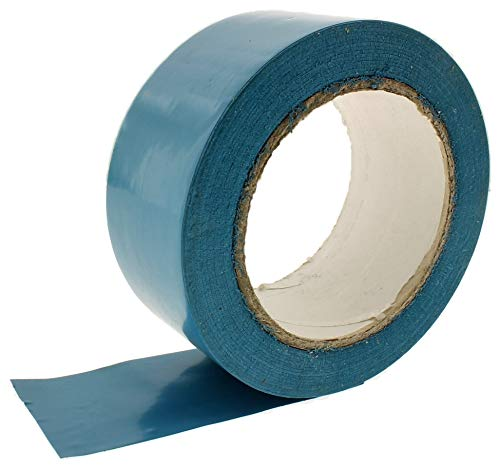 2″ Light Blue Vinyl Floor Tape 7 Mil Rubber Adhesive Sealing Warning OSHA Caution Marking Safety Electrical Removable PVC Tape 36yd