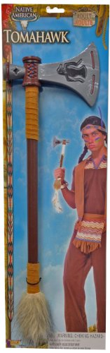 Forum Novelties Men's Native American Tomahawk Costume Accessory, Multi Colored, One Size